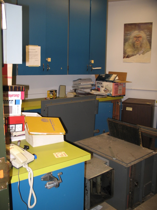 pic of the TIE lab before construction